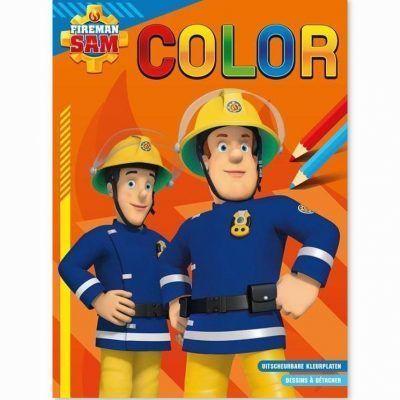 Brandweerman Sam Color kleurblok Kleurboeken voor jongens