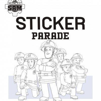 Brandweerman Sam Sticker Parade Kinderstickers
