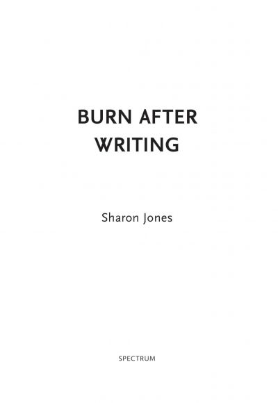 Burn after writing – Roze Burn after writing
