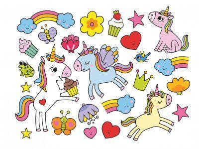 Color & Sticker Fun – Stickerboek Magische eenhoorns Kinderstickers