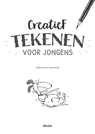 Creatief tekenen voor jongens – Tekenboek Kleurboeken voor jongens