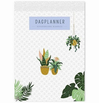 Dagplanner Houseplants – A5 Dagplanner