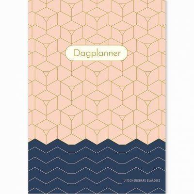 Dagplanner Pink Patterns – A5 Dagplanner