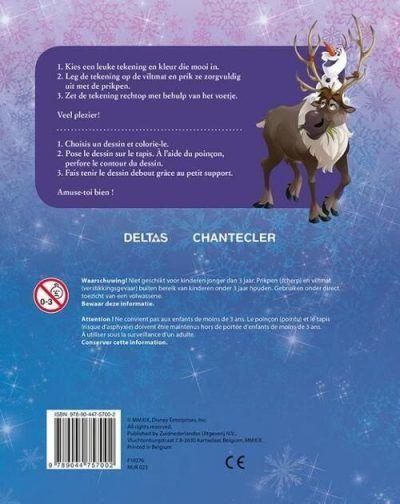 Disney Prikblok Frozen – incl. viltmat & prikpen Kleurboeken