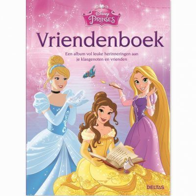 Disney Princess vriendenboekje Vriendenboekje