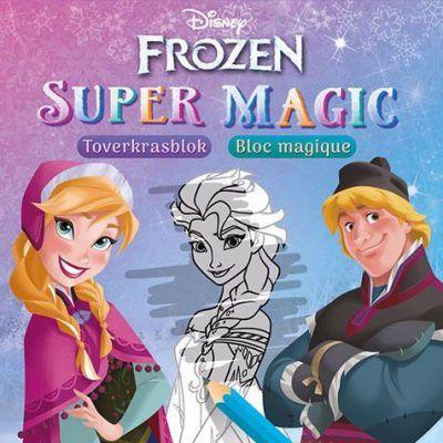 Disney Super Magic Toverkrasblok Frozen Disney kleurboek
