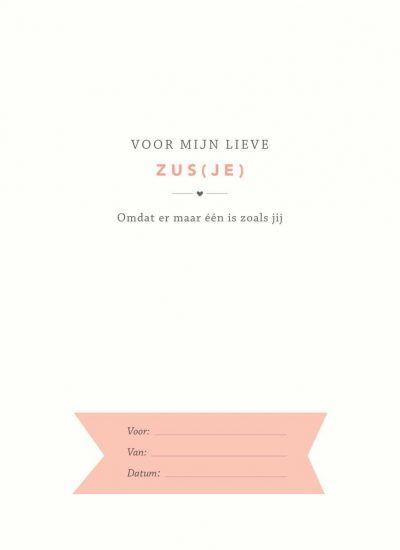 Elma van Vliet – Voor mijn zus(je) Cadeauboek voor zus
