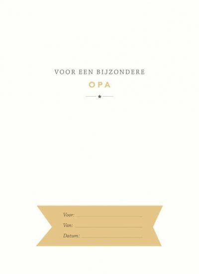Elma van Vliet – Voor opa Boek vaderdag