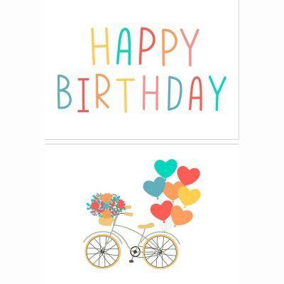 Fabrique a la Carte Verjaardagskaarten set – Happy Birthday – 14 stuks Felicitatiekaarten