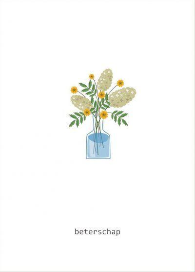 Fabrique a la Carte Wenskaarten set – Beterschap – 15 stuks Wenskaarten
