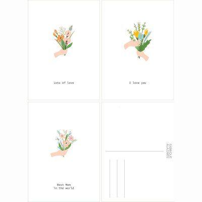 Fabrique a la Carte Wenskaarten set – Moederdag – 15 stuks Bedankkaarten