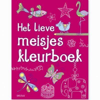 Het lieve meisjes kleurboek Kleurboeken voor kinderen