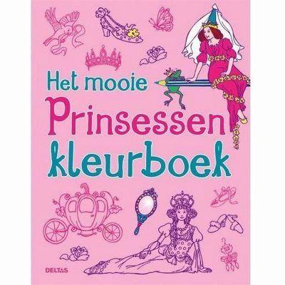 Het mooie prinsessen kleurboek Kleurboeken voor kinderen