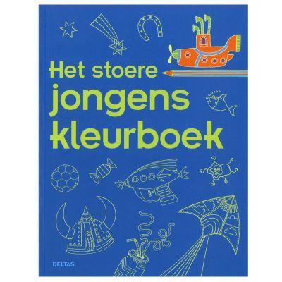 Het stoere jongens kleurboek Kleurboeken voor jongens