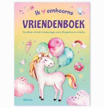 Ik hou van eenhoorns vriendenboekje – Unicorn Vriendenboekje