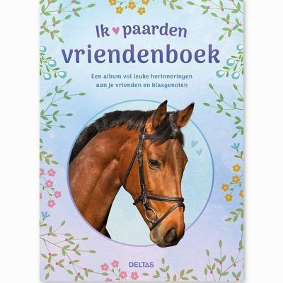 Ik hou van paarden vriendenboekje Vriendenboekje