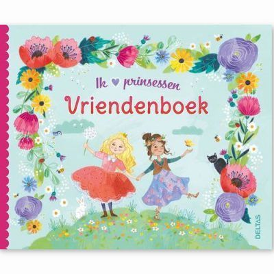 Ik hou van prinsessen vriendenboekje Vriendenboekje