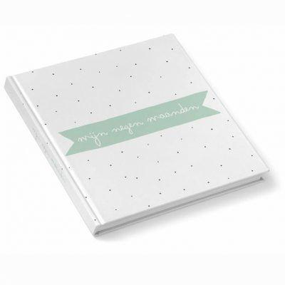 KIDOOZ Invulboek 'Mijn negen maanden' – Mint 9 maanden dagboek
