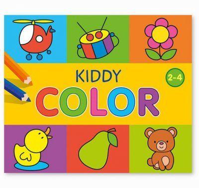 Kiddy Color kleurboek 2-4 jaar Kleurboeken voor kinderen