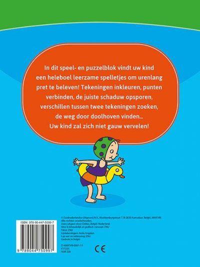Leerrijk spelletjesblok 4-6 jaar Cadeauboeken voor kinderen