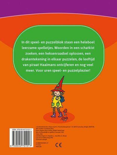 Leerrijk spelletjesblok 8-10 jaar Cadeauboeken voor kinderen