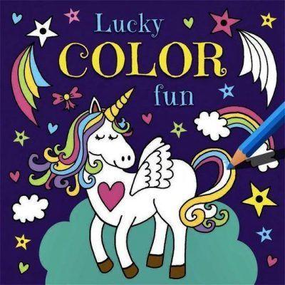 Lucky Color Fun Eenhoorn Kleurboek Eenhoorn boek