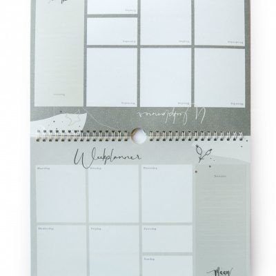 Maan Amsterdam Weekplanner Eclipse – A4 – Incl. stickervel Weekplanner