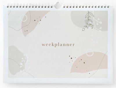 Maan Amsterdam Weekplanner Eclipse – A4 – Incl. stickervel Weekplanner