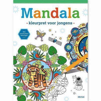 Mandala kleurboek – Kleurpret voor jongens Kleurboeken voor jongens