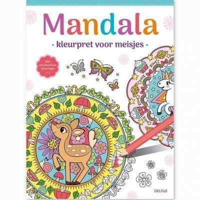 Mandala kleurboek – Kleurpret voor meisjes Kleurboeken voor kinderen