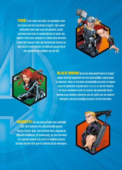 Marvel Avengers vriendenboekje Vriendenboekje