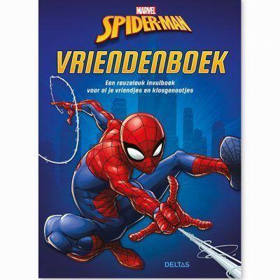 Marvel Spider-Man vriendenboekje Vriendenboekje