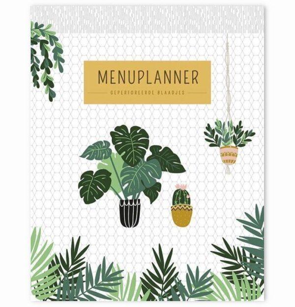 Menuplanner Houseplants – A5 Boodschappen planner