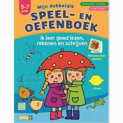 Mijn dubbeldik speel- en oefenboek 5-7 jaar – Lezen, rekenen en schrijven Cadeauboeken voor kinderen