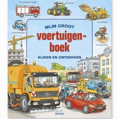 Mijn groot voertuigenboek Kinderboeken