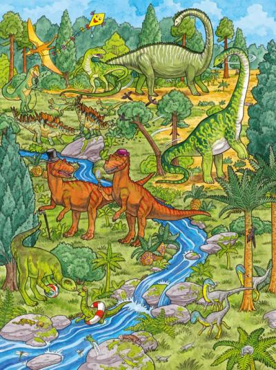 Mijn grote Dino kijk- en zoekboek Kinderboeken
