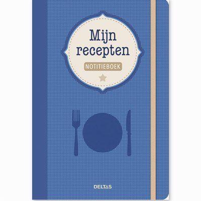 Mijn recepten notitieboek Recepten invulboek