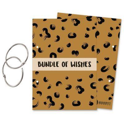 Oh My Goody Bewaarbundel kaarten 'Bundle of Wishes' – A5 Bewaarbundel geboortekaartjes