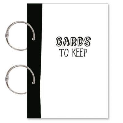 Oh My Goody Bewaarbundel kaarten 'Cards to keep' – A5 Bewaarbundel geboortekaartjes