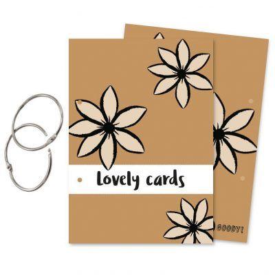 Oh My Goody Bewaarbundel kaarten 'Lovely cards' – A5 Bewaarbundel geboortekaartjes