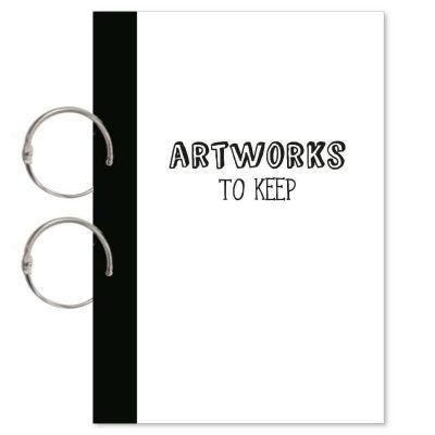 Oh My Goody Bewaarbundel kunstwerkjes 'Artworks to Keep' – A4 Bewaarbundels