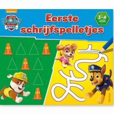 Paw Patrol Eerste schrijfspelletjes 3-4 jaar Cadeauboeken voor kinderen