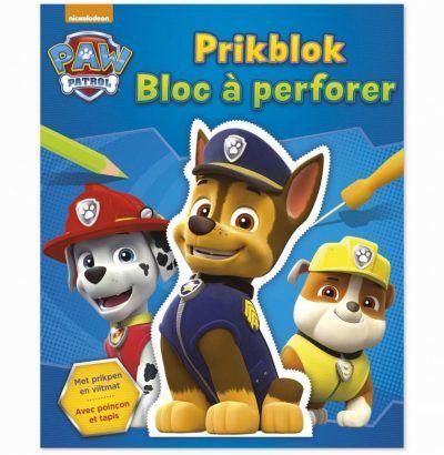 Paw Patrol Prikblok – incl. viltmat & prikpen Kleurboeken