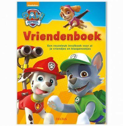 Paw Patrol vriendenboekje Vriendenboekje