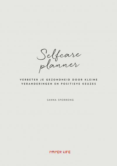 Selfcare planner Dagboek voor volwassenen
