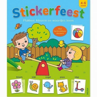 Stickerfeest 4-6 jaar Kinderstickers