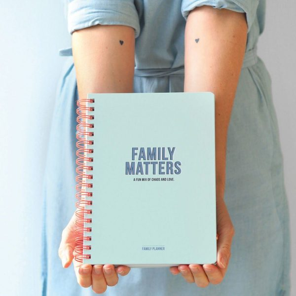 Studio Stationery Family Planner – Family Matters Familie weekplanner