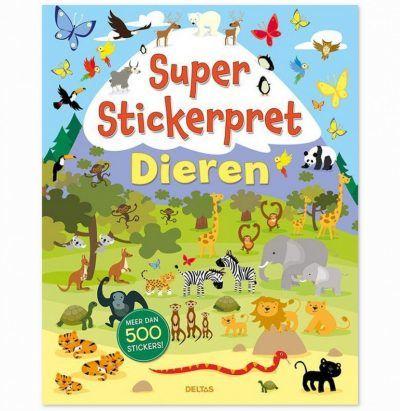 Super Stickerpret – Dieren Kinderstickers