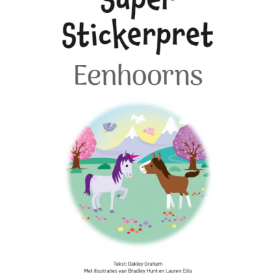 Super Stickerpret – Eenhoorns Kinderstickers