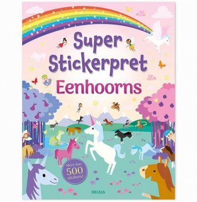 Super Stickerpret – Eenhoorns Kinderstickers